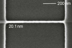 20 nm SiGe nano wire, courtesy of Ruhr University Bochum, Germany