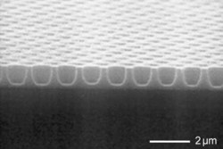 Etching of Ta2O5 on silicon by fluorine chemistry